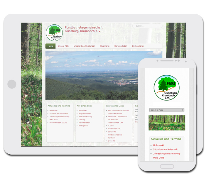 Waldbesitzer Websites
